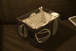 Zelfgemaakte doos