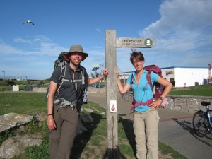 End of Offa's Dyke Path